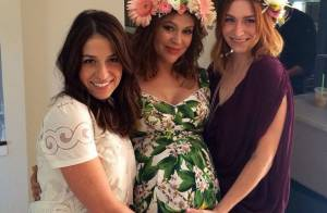 Alyssa Milano, enceinte : Radieuse pour sa baby shower mais le coeur brisé...