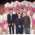 Robin Williams et Eric Idle au Lido à Paris en 2000