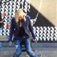 Gwen Stefani, aspergée par Blake Shelton, participe au Ice Bucket Challenge, le 16 août 2014.