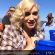 Jessica Alba, Gavin Rossdale, Nicole Richie et Gwen Stefani prennent part au Ice Bucket Challenge, le 17 août 2014.