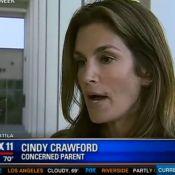 Cindy Crawford : Ses enfants en danger, elle se bat pour ''changer la loi''...