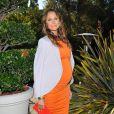 Stacy Keibler, enceinte, à Los Angeles, le 17 juin 2014.