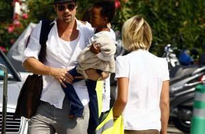 VIDEO + PHOTOS : Brad Pitt a eu des problèmes avec son avion au départ de Cannes ! (réactualisé)