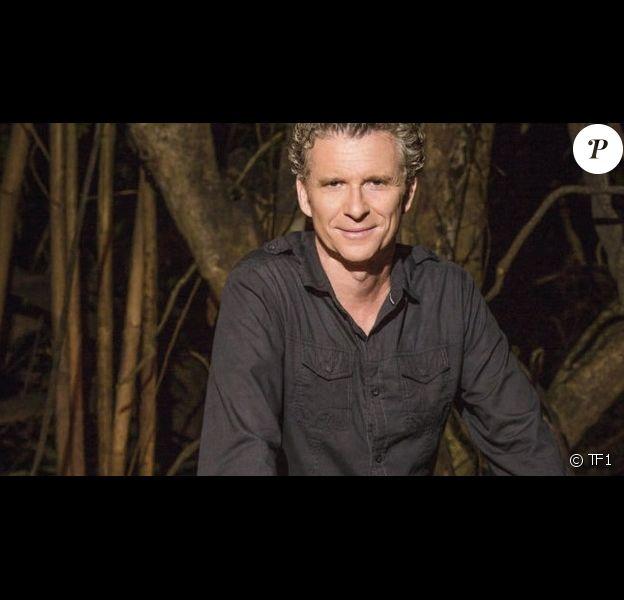 Denis Brogniart, sur le tournage de Koh-Lanta 2014.