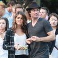 Ian Somerhalder et Nikki Reed à New York, le 24 août 2014.