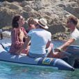 Liv Tyler en vacances avec sa famille à Formentera, le 26 août 2014.