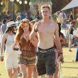 Bella Thorne, Tristan Klier au 3e jour du 2e week-end du Festival de musique de Coachella, le 20 avril 2014.