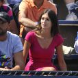 Pauline, la compagne de Benoît Paire, lors du second tour du Français à l'US Open, le 28 août 2014 à l'USTA Billie Jean King National Tennis Center le 28 août 2014 à New York