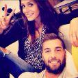 Benoît Paire et sa compagne, la chanteuse Pauline, photo publiée sur le compte Instagram du joueur, le 3 août 2014