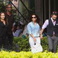 """""""Eva Longoria et José Antonio Baston à Mexico, le 29 août 2014. (crédit Abaca TV)"""""""