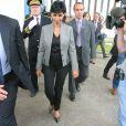 Rachida Dati lors de sa visite de la prisonde  Fleury Merogis 02/09/08