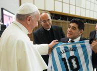 Pape François: Avec Diego Maradona et des stars de foot pour sa grande rencontre