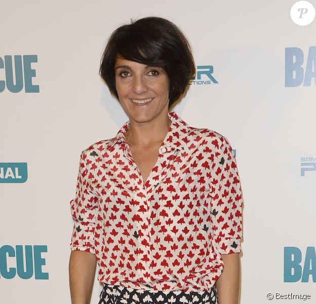 """Florence Foresti à l'avant-première du film """"Barbecue"""" au cinéma Gaumont Opéra à Paris, le 7 avril 2014."""