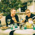 Le groupe Tokio Hotel, le 4 mars 2014