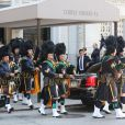 Obsèques de Joan Rivers au Temple Emanu-El à New York, le 7 septembre 2014.