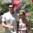 Ashley Tisdale et son beau Christopher French à Toluca Lake à Los Angeles le 9 août 2014