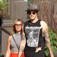Ashley Tisdale et Christopher French dans les rues de Soho à New York le 30 juillet 2014