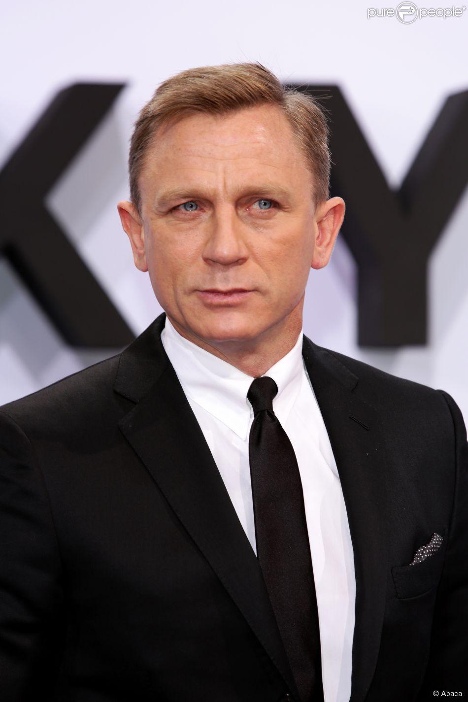 Daniel Craig à Berlin, le 30 octobre 2012.