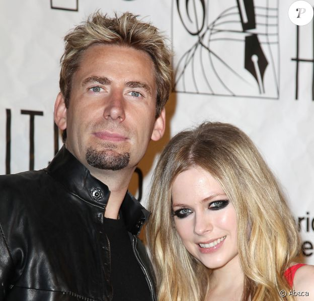Chad Kroeger et Avril Lavigne aux 44e Annual Songwriters Hall of Fame à New York, le 13 juin 2013