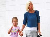 Tori Spelling : Sa série annulée, elle trouve le réconfort avec sa petite Stella