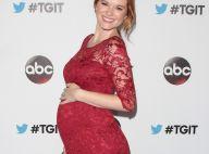 Sarah Drew (Grey's Anatomy) : Enceinte dans sa robe moulante face à Ellen Pompeo