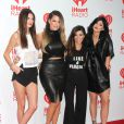 "Kendall Jenner, Khloé Kardashian, Kourtney Kardashian, Kylie Jenner au Festival ""iHeartRadio Music"" à Las Vegas, le 22 septembre 2013."