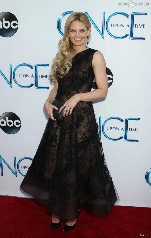 Jennifer Morrison, lors de la soirée de lancement de la quatrième saison de Once upon a time à El Capitan Theater de Hollywood, le 21 septembre 2014