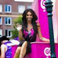 Conchita Wurst participe à la Gay Pride à Amsterdam, le 2 août 2014.