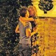 Margot Robbie avec son nouveau boyfriend Tom à Londres le 24 août 2014.