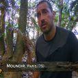 """Moundir dans """"Koh-Lanta 2014"""" sur TF1. Episode diffusé le 19 septembre 2014."""