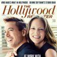 Couverture du Hollywood Reporter avec Robert Downey Jr et sa femme productrice.