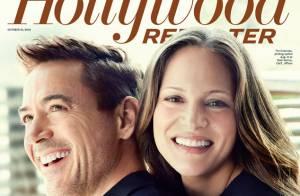 Robert Downey Jr. et sa femme, enceinte : Le bonheur complice après le deuil...