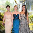 Rachel Weisz, Michelle Williams et Mila Kunis à la première de Oz The Great and Powerful à Londres, le 28 février 2013