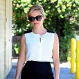 Reese Witherspoon à la sortie de son bureau à Beverly Hills, le 12 septembre 2014.
