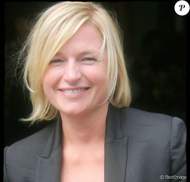 Anne-Élisabeth Lemoine - Présentation de la grille de rentée de Canal+. A Paris en 2007.