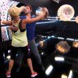 Brian Joubert et Katrina Patchett - Prime de Danse avec les stars 5 sur TF1. Samedi 4 octobre 2014.