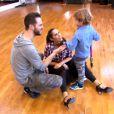 Elisa Tovati et Christian Millette - Prime de Danse avec les stars 5 sur TF1. Samedi 4 octobre 2014.