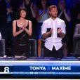 Tonya Kinzinger et Maxime Dereymez -   Prime de Danse avec les stars 5 sur TF1. Samedi 4 octobre 2014.