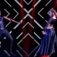 Anthony Kavanagh et Silvia Notargiacomo -   Prime de Danse avec les stars 5 sur TF1. Samedi 4 octobre 2014.