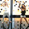 Louisy Joseph et Guillaume Foucault - Prime de Danse avec les stars 5 sur TF1. Samedi 4 octobre 2014.