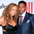 Mariah Carey et son mari Nick Cannon à Beverly Hills, le 7 septembre 2012.