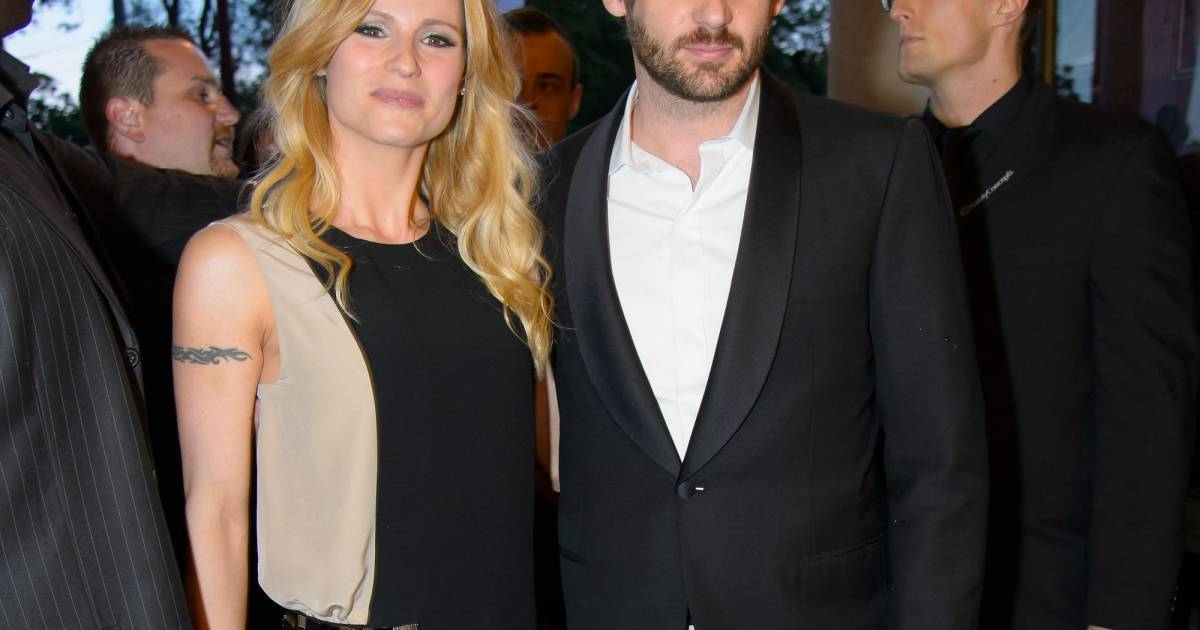 Michelle hunziker et son fianc tomaso trussardi soir e for Wohndesign pure vienna 2014