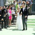 Mariage de la princesse Carolina de Bourbon-Parme et d'Albert Brenninkmeijer le 16 juin 2012 à Florence