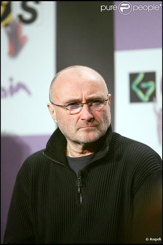 Phil Collins en 2007