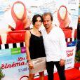 """Stéphane Henon et sa femme Isabelle - Avant-première du film """"Fiston"""" lors du 11e festival """"Les Hérault du cinéma et de la télé 2014"""" au Cap d'Agde, le 28 juin 2014."""
