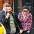 La chanteuse Kesha se promène avec son petit ami Brad à New York, le 28 mai 2014.