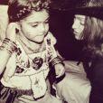 La petite Lourdes Leon a bien grandi et célébré son 18e anniversaire le 14 octobre 2014.