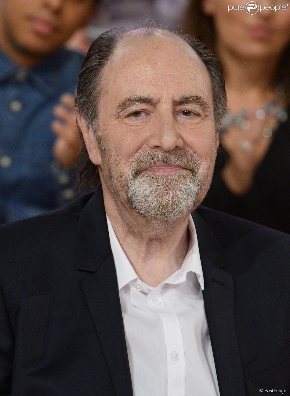 """Michel Delpech - Enregistrement de l'émission """"Vivement dimanche"""" à Paris le 15 octobre 2014. L'émission sera diffusée le 19 octobre."""