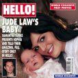 Samantha Burke et Sophia en couverture de Hello