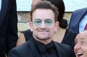 Bono révèle son secret   Pourquoi la star de U2 ne quitte jamais ses  lunettes... Maître Gims ... 3935ef139a40